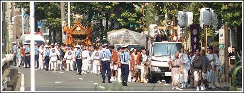 五反田 氷川神社 お祭り